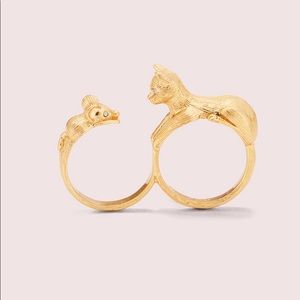 Kate spade Jewelry cat ring